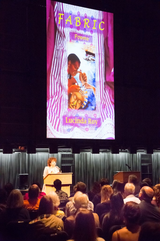 Lucinda Roy Reading from Fabric: Poems
